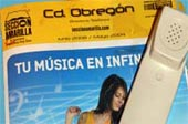 Picture of Ciudad Obregon yellow pages phone directory.