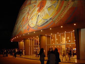 Oscar Russo Theater at night